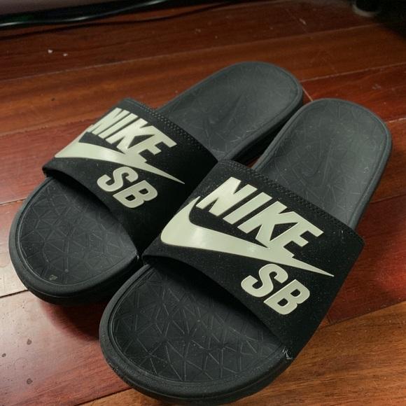 Nike Shoes | Nike Sb Slides Sandals